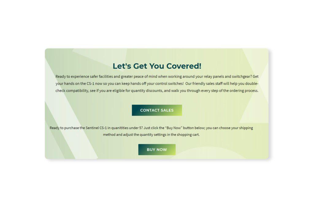 CTA WordPress feature